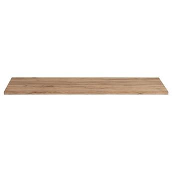 Prostokątny blat łazienkowy - Malta 10X Dąb 140 cm
