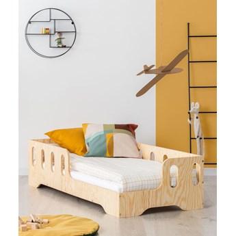Prawostronne łóżko drewniane dziecięce 16 rozmiarów - Filo 2X