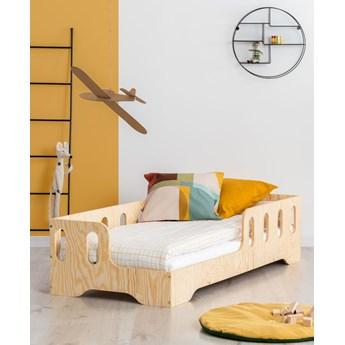 Lewostronne łóżko drewniane dziecięce 16 rozmiarów - Filo 2X