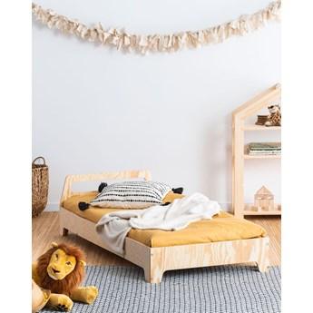 Drewniane łóżko młodzieżowe - Mailo 2X