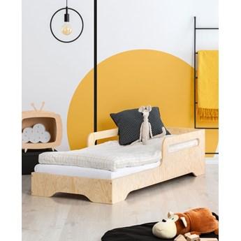 Drewniane pojedyncze łóżko młodzieżowe 16 rozmiarów - Filo 3X