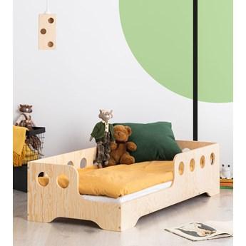 Lewostronne łóżko drewniane dziecięce 16 rozmiarów - Filo 4X