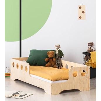 Prawostronne łóżko drewniane dziecięce 16 rozmiarów - Filo 4X