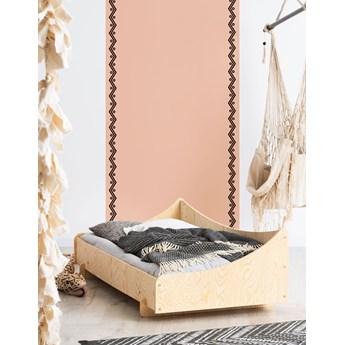 Drewniane pojedyncze łóżko młodzieżowe - Mailo 5X