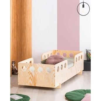 Łóżko drewniane dziecięce ze stelażem Filo 7X