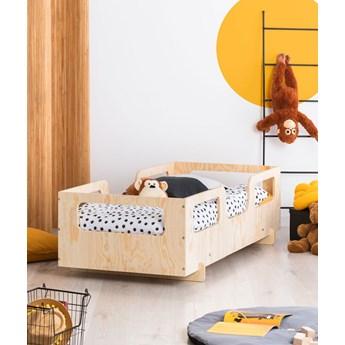 Drewniane dziecięce łóżko w stylu skandynawskim 16 rozmiarów - Filo 9X