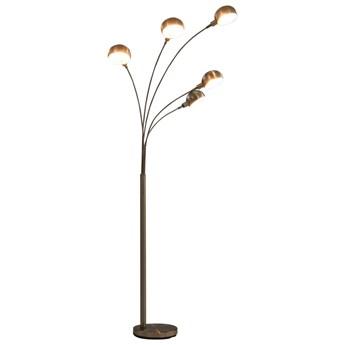 Srebrna lampa podłogowa z regulacją wysokości - EX184-Atina