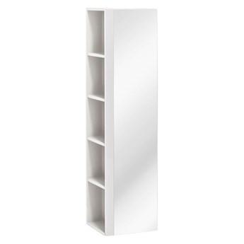 Słupek łazienkowy podwieszany - Malaga 2X Biały