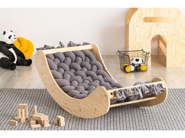 Popielata drewniana kołyska dziecięca - Tulis Drewno Kołyski Kategoria