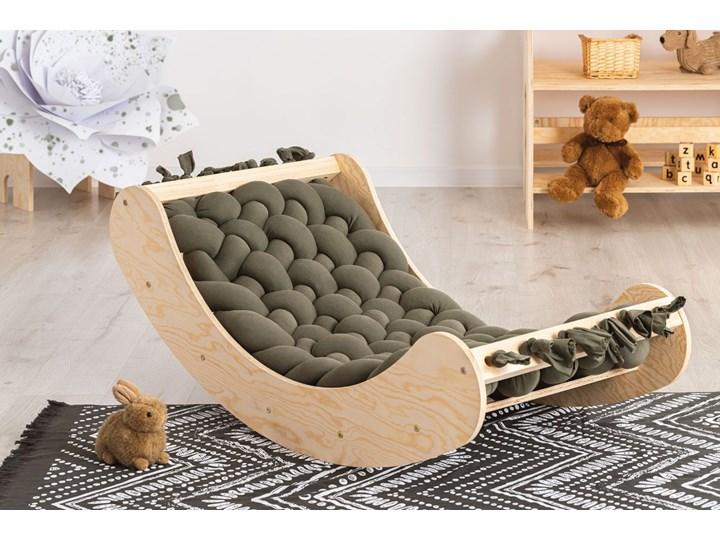 Ciemnozielona drewniana kołyska dziecięca - Tulis Drewno Kołyski Kategoria
