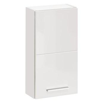 Wisząca szafka lazienkowa - Malaga 5X Biały połysk