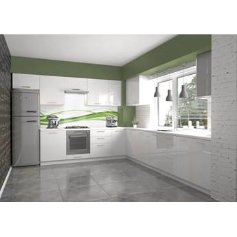Biały zestaw mebli kuchennych - Limo