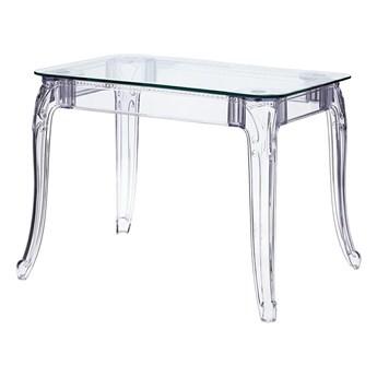 Transparentny stół prostokątny - Immel