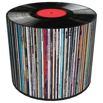 Okrągła pufa tapicerowana 17 wzorów  - Adelos 7X