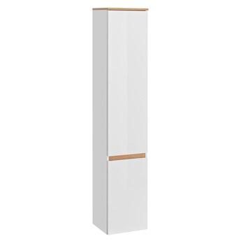 Podwieszany słupek łazienkowy - Sewilla 2X Biały połysk
