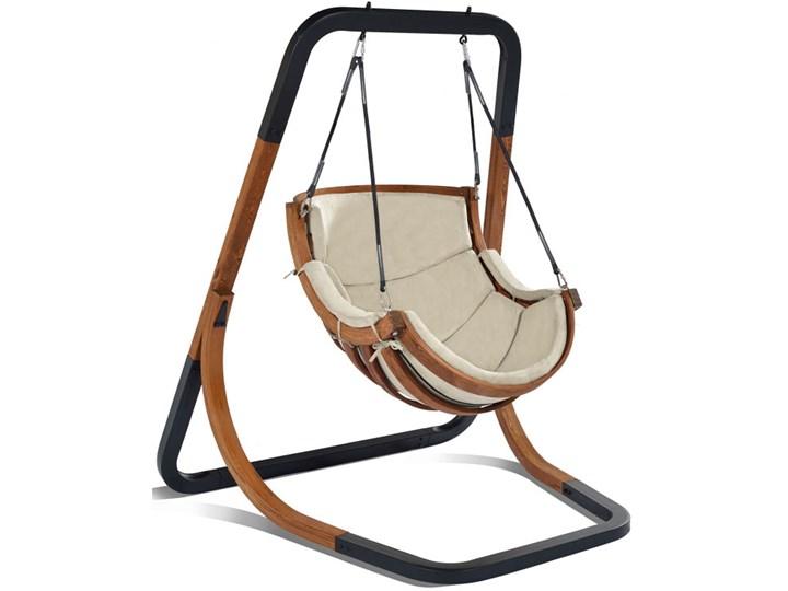 Beżowy fotel wiszący do ogrodu - Pasos 2X Kategoria Huśtawki ogrodowe