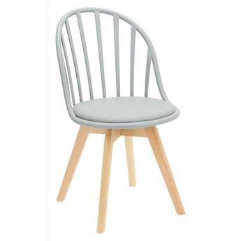 Szare krzesło patyczak - Malene 2X