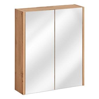 Wisząca szafka łazienkowa z lustrem - Saloma 5X 60 cm