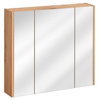 Podwieszana szafka z lustrem - Saloma 5X 80 cm