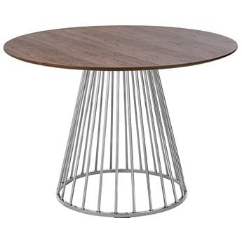 Okrągły stół do salonu glamour - Aglo