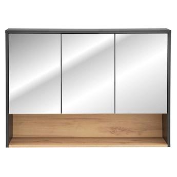 Wisząca szafka łazienkowa z lustrem - Ketris 4X 120 cm