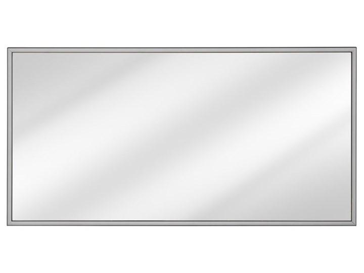 Podwieszane prostokątne lustro łazienkowe - Tauro 2S Ścienne Lustro z ramą Styl Nowoczesny