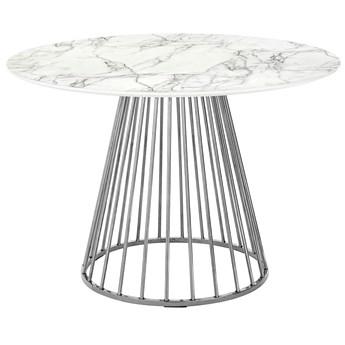 Okrągły stół do jadalni marmur - Aglo