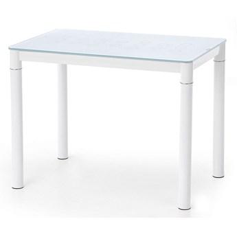 Szklany stół kuchenny Rapid - biały