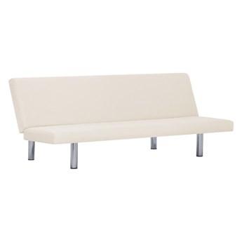 Sofa minimalistyczna Melwin 2X – kremowa