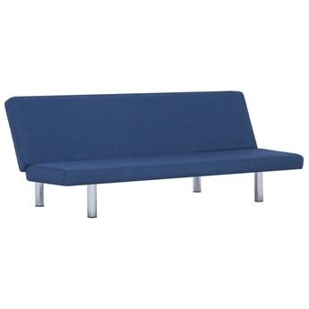 Sofa minimalistyczna Melwin 2X – niebieska