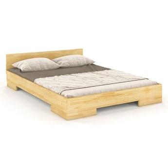 Drewniane łóżko skandynawskie Laurell 3S - 6 ROZMIARÓW