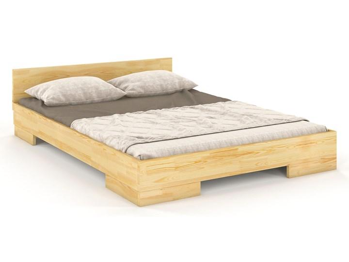 Drewniane łóżko skandynawskie Laurell 3S - 6 ROZMIARÓW Łóżko drewniane Rozmiar materaca 180x220 cm
