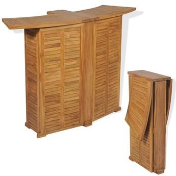 Drewniany barowy stolik ogrodowy - Arden