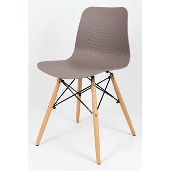 Skandynawskie krzesło Pappu - beżowe