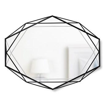 Loftowe lustro Senmi - czarne