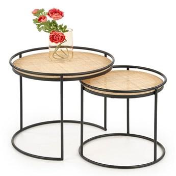 Zestaw loftowych stolików kawowych Artelia