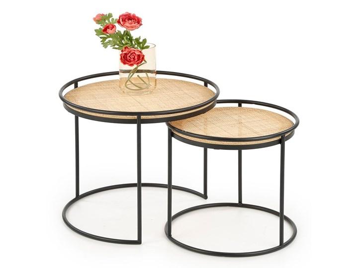 Zestaw loftowych stolików kawowych Artelia Wysokość 51 cm Zestaw stolików Styl Nowoczesny