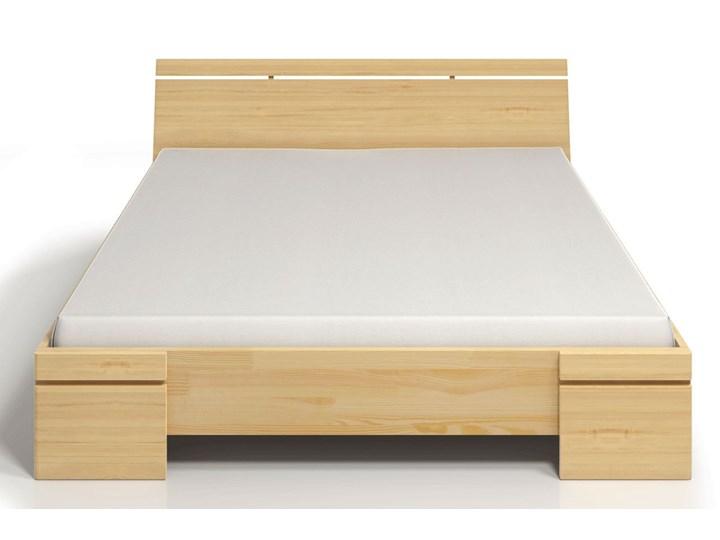 Drewniane wysokie łóżko Ventos 3X - 6 ROZMIARÓW Rozmiar materaca 140x200 cm