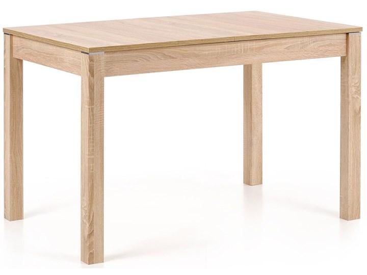 Stół rozkładany do kuchni Aster - dąb sonoma Drewno Długość 118 cm Wysokość 76 cm Szerokość 75 cm Rozkładanie Rozkładane