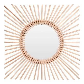 Okrągłe lustro Kioko - naturalne