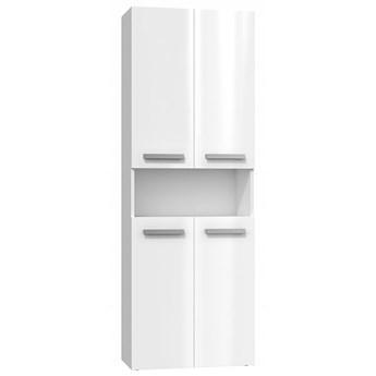 Szafka łazienkowa Malmo 5X - biały połysk