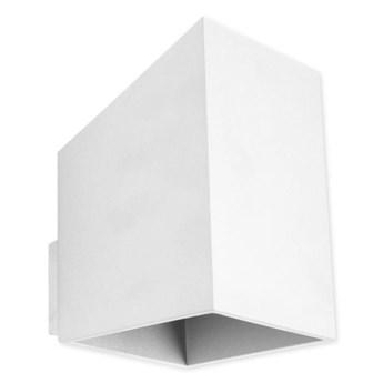 Skandynawski kinkiet E008-Rubis - biały