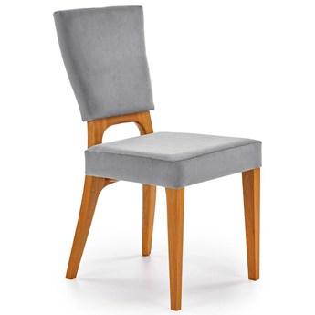 Krzesło dębowe Vernon - popiel + dąb miodowy