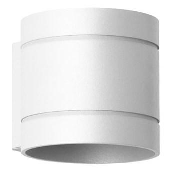 Okrągły kinkiet E065-Diega - biały