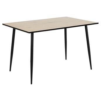 Loftowy stół Telim 120x80 cm - dąb