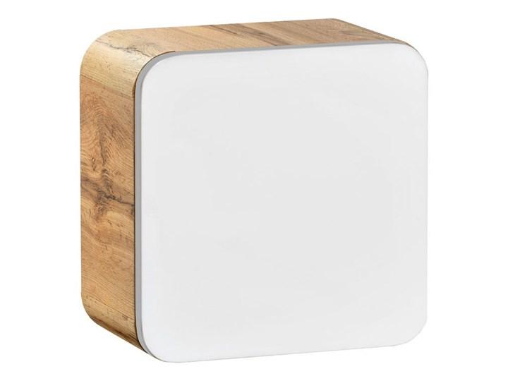 Wisząca kwadratowa szafka łazienkowa Borneo 2X - biały połysk Szerokość 35 cm Szafki Kategoria Szafki stojące Wiszące Wysokość 35 cm Rodzaj frontu Drzwiczki