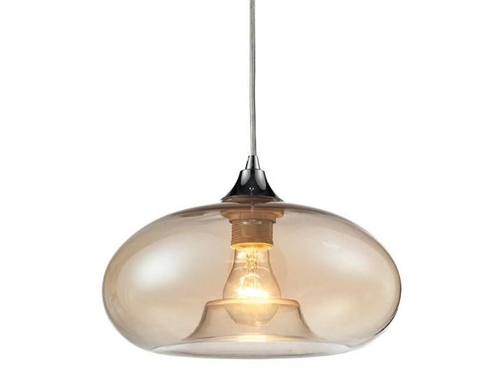 Loftowa lampa wisząca E338-Bolli Metal Szkło Lampa z kloszem Styl Nowoczesny Kolor Beżowy