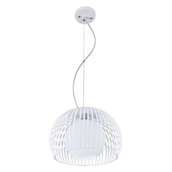 Biała okrągła lampa wisząca - E346-Jupitex