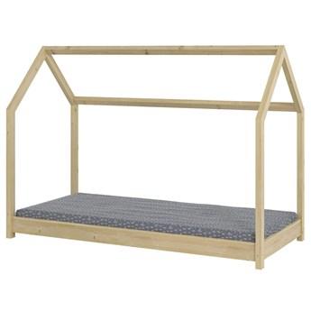 Łóżko dla dziecka domek Olaf 80x180 - sosna