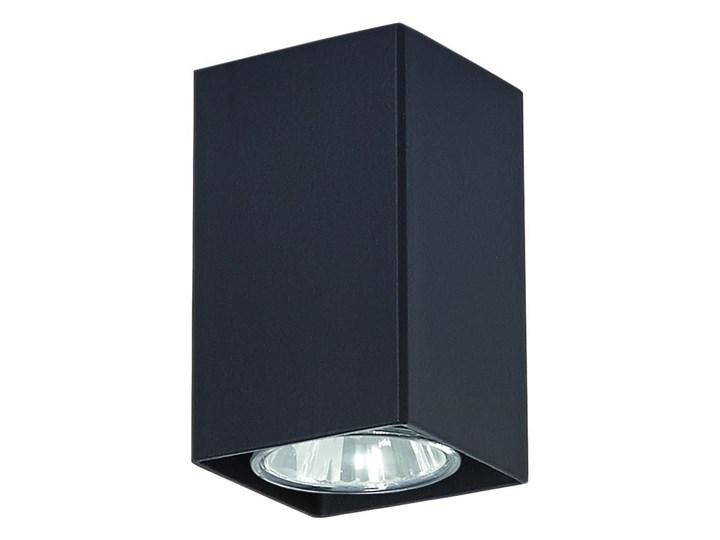 Lampa sufitowa do sypialni E356-Neri - czarny Oprawa stropowa Kwadratowe Kategoria Oprawy oświetleniowe